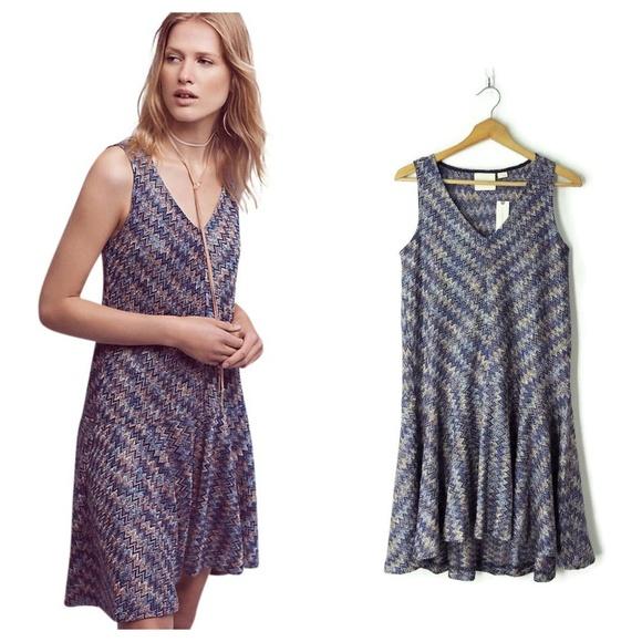 d98aa0f3cc9f Anthropologie Dresses | Maeve Westwater Chevron Dress | Poshmark